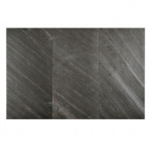 FastStone+ Black Line 12 in. x 24 in. Slate Peel and Stick Wall Tile (6 sq. ft. / pack)-70-048-05-01 207041452