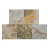 FastStone+ Indian Autumn 12 in. x 12 in. Slate Peel and Stick Wall Tile (5 sq. ft. / pack)-70-045-04-01 207041348