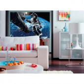 Ideal Decor 45 in. x 69 in. Space Cowboy Wall Mural-DM629 204414675
