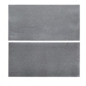 Jeff Lewis 6 in. x 12 in. Honed Basalt Field Wall Tile (2-pieces / pack)-98469 207174609