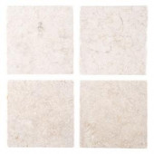 Jeffrey Court Giallo Sienna 6 in. x 6 in. Marble Floor/Wall Tile-83000 202273436