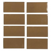 Jeffrey Court Lava Cake Cold Spray 3 in. x 6 in. x 8 mm Glass Wall Tile-99518 202663564