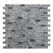 Jeffrey Court TI Metallic 12 in. x 12 in. x 8 mm Glass Mosaic Tile-99324 205952797
