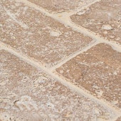 Jeffrey Court Travertine Noce 6 in. x 3 in. Travertine Wall and Floor Tile (8 pieces / 1 sq. ft. / pack)-99100 202309900