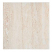 MONO SERRA Travertino Ceramic Floor and Wall Tile - 4 in. x 4 in. Tile Sample-8614-S 206703935