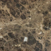 MS International Emperador Dark 12 in. x 12 in. Polished Marble Floor and Wall Tile (10 sq. ft. / case)-TEMDK1212 202508291