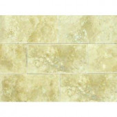 MS International Ivory 3 in. x 6 in. Honed Travertine Floor and Wall Tile (1 sq. ft. / case)-THDW1-T-IVO-3x6 100664306