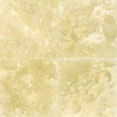 MS International Ivory 6 in. x 6 in. Honed Travertine Floor and Wall Tile (1 sq. ft. / case)-THDW1-T-IVO-6x6 100664301