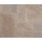 MS International Ivory Onyx Pattern Honed-Unfilled-Chipped Travertine Floor and Wall Tile (5 kits / 80 sq. ft. / pallet)-TTIVOYX-PAT-HUC 205762424
