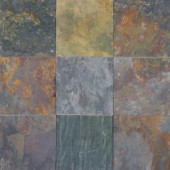 MS International Multi Classic 16 in. x 16 in. Gauged Slate Floor and Wall Tile (8.9 sq. ft. / case)-SHDMCLS1616G 202195874