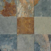 MS International Multi Color 12 In. x 12 In. Gauged Slate Floor and Wall Tile (5 sq. ft. /case)-SHDCALGLD1212G 202194782