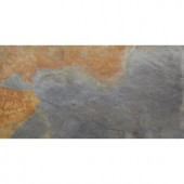 MS International Multi Color 12 in. x 24 in. Gauged Slate Floor and Wall Tile (10 sq. ft. / case)-SHDMCOLOR1224G 202919775