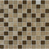 MS International Pine Valley 12 in. x 12 in. x 8 mm Glass and Stone Mesh-Mounted Mosaic Tile-SMOT-SGLS-PV8MM 202814255