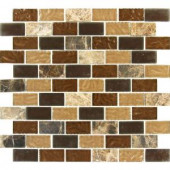 MS International Sonoma Blend 12 in. x 12 in. x 8 mm Glass Stone Mesh-Mounted Mosaic Tile-SGL-SB-8MM 202676665