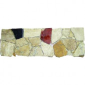 MS International Spanish Rock Strip 4 in. x 12 in. Marble Listello Floor and Wall Tile-BOR-SPRKST4X12H 100664272