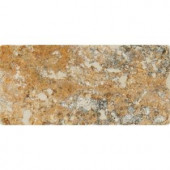 MS International Tuscany Scabas 3 in. x 6 in. Tumbled Travertine Floor and Wall Tile (1 sq. ft. / case)-TTSCAB36T 206873884