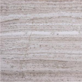 Solistone Haisa Marble Light 12 in. x 12 in. Natural Stone Floor and Wall Tile (10 sq. ft. / case)-HGRY LP-05 206020794