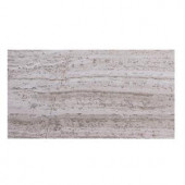 Solistone Haisa Marble Light 3 in. x 6 in. Natural Stone Floor and Wall Tile (5 sq. ft. / case)-HGRY LP-04 206020777
