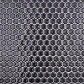 Splashback Tile Bliss Hexagon Black 12 in. x 12 in. x 10 mm Polished Ceramic Mosaic Tile-BLISSHEXPOLBLK 206496915