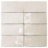 Splashback Tile Catalina Vanilla 3 in. x 6 in. x 8 mm Ceramic and Wall Subway Tile-CATALINA3X6VANILLA 206496899
