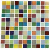 Splashback Tile Fruit Splash 12 in. x 12 in. x 8 mm Glass Floor and Wall Tile-FRUIT SPLASH 1X1 GLASS TILES 203288465