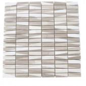 Splashback Tile Great Bismarck 12 in. x 12 in. Marble Floor and Wall Tile-GREAT BISMARCK MARBLE TILE 204279061
