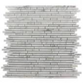 Splashback Tile Windsor Random Oriental 12 in. x 12 in. x 8 mm Marble Floor and Wall Tile-WINDSOR .25 X RANDOM ORIENTAL MARBLE 203478113