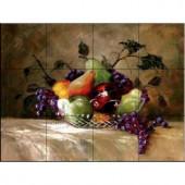 The Tile Mural Store America's Bounty 24 in. x 18 in. Ceramic Mural Wall Tile-15-1290-2418-6C 205842753