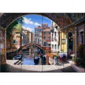 The Tile Mural Store Archway to Venice 24 in. x 18 in. Ceramic Mural Wall Tile-15-395-2418-6C 205842679