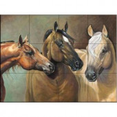 The Tile Mural Store Big, Blonde and Beautiful 17 in. x 12-3/4 in. Ceramic Mural Wall Tile-15-2677-1712-6C 205842894