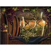 The Tile Mural Store Evening in Tuscany 17 in. x 12-3/4 in. Ceramic Mural Wall Tile-15-2889-1712-6C 205842913