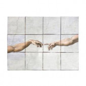Tile My Style The Fall 24 in. x 18 in. Tumbled Marble Tiles (3 sq. ft. /case)-TMS0007M1 203457824