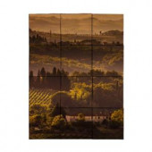 Tile My Style Vineyard1 24 in. x 18 in. Tumbled Marble Tiles (3 sq. ft. /case)-TMS0001M2 203450546